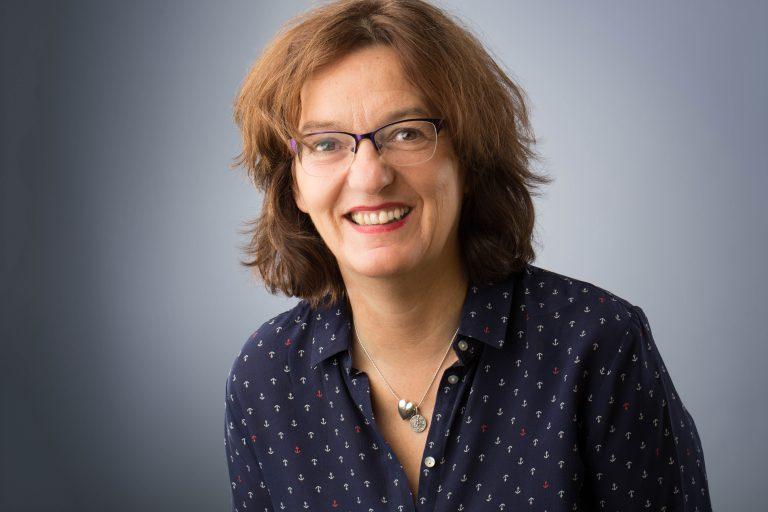 Odile Tonin, assistante administrative